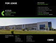 to download the flyer - CBRE Canada