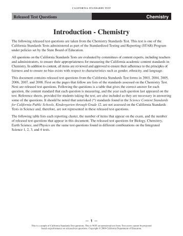 chemistry test questions 5 chemistry practice exams by gary s thorpe, ms are the most up-to-date type of questions that you will experience on the ap chemistry exam each question is thor.