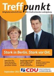 September 2013 - CDU Ludwigsburg