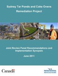 Sydney Tar Ponds and Coke Ovens Remediation Project