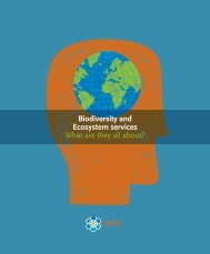 Biodiversity and Ecosystem services What are they all about? - Cefic