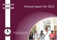2012 Vahatra Annual Report - Critical Ecosystem Partnership Fund