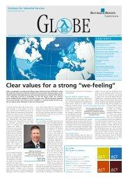 """Clear values for a strong """"we-feeling"""" - Bilfinger Berger Industrial ..."""