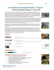Framtidens återvinningsteknik 2011 – Program - Chalmers tekniska ...