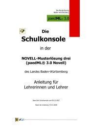 3 - Lehrerfortbildungsserver Baden-Württemberg