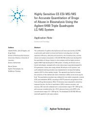 Highly Sensitive CE-ESI-MS/MS for Accurate Quantitation of Drugs ...