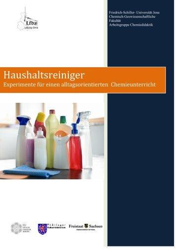 Haushaltsreiniger - chemiedidaktik.uni-jena.de - Friedrich-Schiller ...