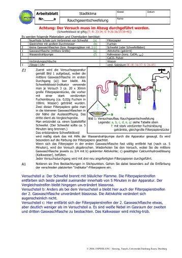 S2C28L - Chemie und ihre Didaktik, Universität Wuppertal