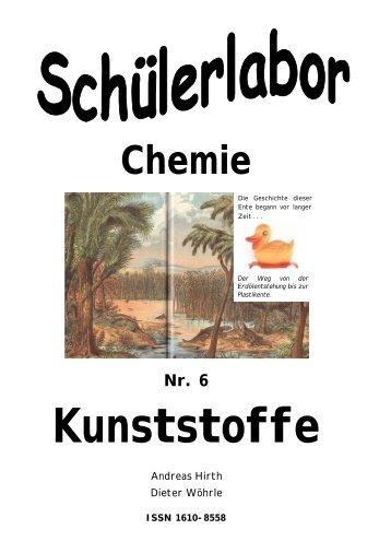 Kunststoffe - Chemie und ihre Didaktik, Universität Wuppertal