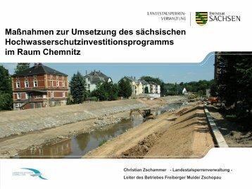 Vortrag der Landestalsperrenverwaltung - Chemnitz