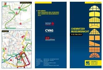 Programm zur Museumsnacht in Chemnitz