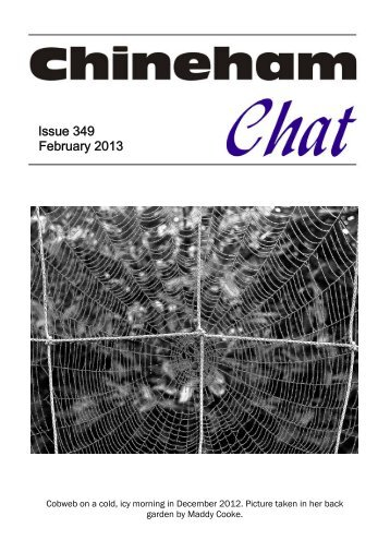 Feb 2013 - Chineham Chat Magazine
