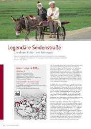 Legendäre Seidenstraße - China Tours