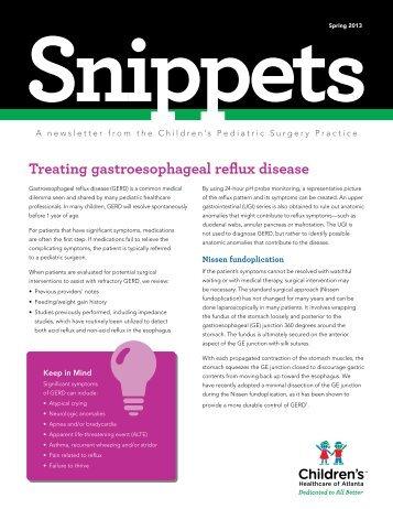 Snippets Spring - Children's Healthcare of Atlanta
