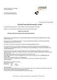 Protokoll Frauenreferentinnentag 21.10.2006 - Chorverband Otto ...