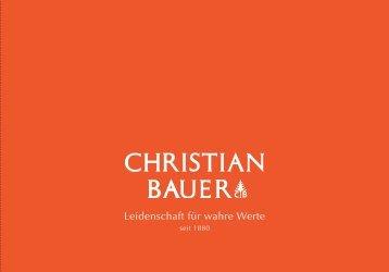 750 Weisgold, Brillanten - Christian Bauer