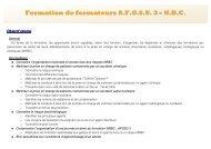 Programme de formateurs AFGSU 3 - NRBC - CHU Toulouse