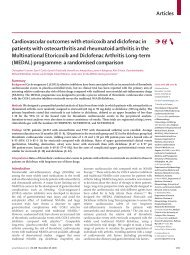 Articles Cardiovascular outcomes with etoricoxib and diclofenac in ...