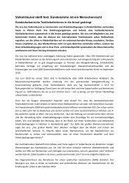 Pressemitteilung der Kampagne für Saubere Kleidung zum Tribunal