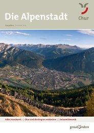 Alpenstadt Magazin SO 2013 - Chur Tourismus