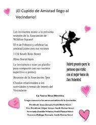 ¡El Cupido de Amistad llego al Vecindario! - City of Santa Ana