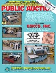 Downloadable - Cincinnati Industrial Auctioneers, Inc.