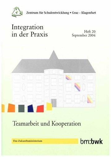 Integration in der Praxis Nr. 20 - cisOnline