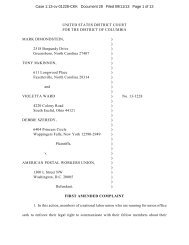 Amended Complaint - Public Citizen
