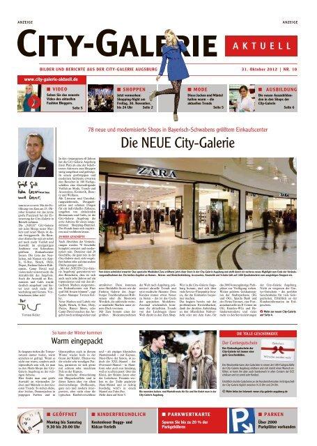 Die Neue City Galerie City Galerie Augsburg