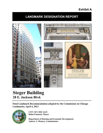 Steger Building - City of Chicago