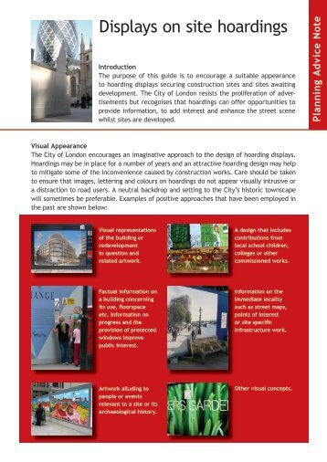 Hoarding-Advice-Note - the City of London Corporation