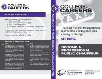 Olive-Harvey Public Chauffeur Training Institute ... - City of Chicago