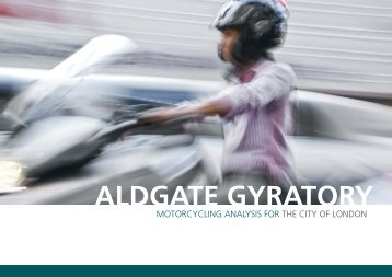Motorcycling Analysis - the City of London Corporation