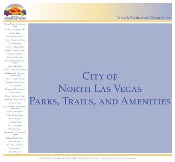 City of North Las Vegas Parks, Trails, and Amenities