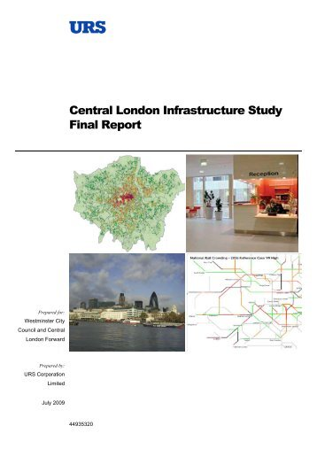 Central London Infrastructure Study Final Report - the City of ...