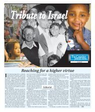 Tribute to Israel In - The Canadian Jewish News