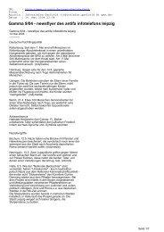 Gamma 9/04 - newsflyer des antifa infotelefons leipzig - CL-Netz