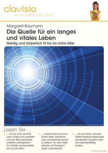 Die Quelle für ein langes und vitales Leben - Clavisio.de
