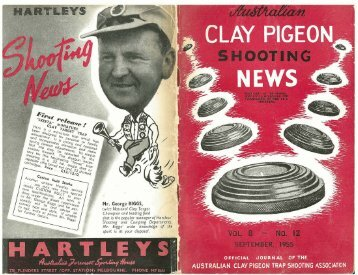 OCTOBER, 1955 - Australian Clay Target Association