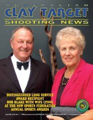 JULY 2008 - Australian Clay Target Association