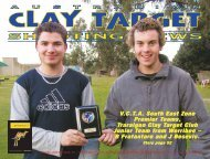 october - Australian Clay Target Association