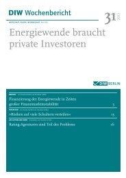 Energiewende braucht private Investoren - Claudia Kemfert