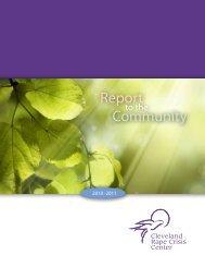 2011 Annual Report. - Cleveland Rape Crisis Center