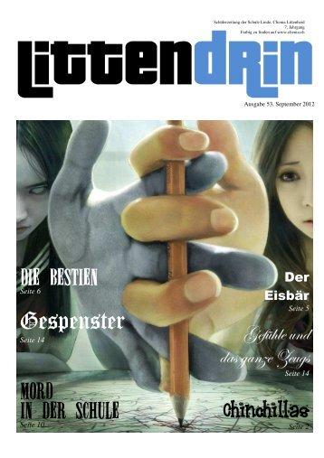 Littendrin, Ausgabe 53 - Clienia Privatklinik Littenheid