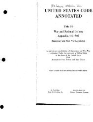 united states code annotated - William J Clinton Presidential Library