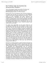 Artikel (37 KB) - Club der Autofreien der Schweiz