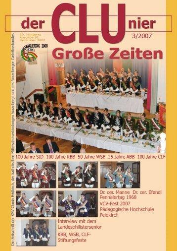 CLUnier 3/2007 Seite - KMV Clunia Feldkirch