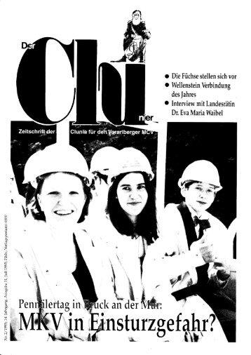 2/1995 - KMV Clunia Feldkirch