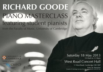 richard goode - AHRC Research Centre for Musical Performance as ...