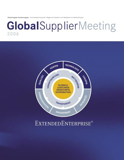 Download Sonderausgabe Global Supplier Meeting - Daimler
